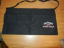 (SEE) JACK DANIELS No7 WHISKEY & ORIGINAL HARD COLA APRON RESTAURANT PUB BAR
