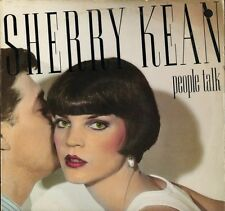 SHERRY KEAN people talk S-12328 usa capitol 1984 LP PS VG+/EX deletion hole