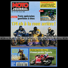 MOTO JOURNAL N°1188 KTM 620 DUKE, COUPE CAGIVA 125 MITO CUP, GOLDWING CLUB 1995