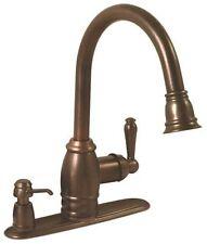 Premier Sonoma Pull-Down Kitchen Faucet Oil Rubbed Bronze w/ Soap Dispenser