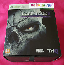 DARKSIDERS 2 EDITION PREMIUM COLLECTOR TRES BON ETAT XBOX 360 FRANCAIS