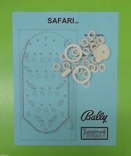 1969 Bally Safari pinball / bingo rubber ring kit
