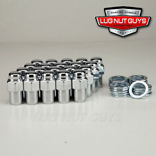 "20 Lug Nuts 12x1.25 Chrome Mag Wheel Nuts .75"" Shank"