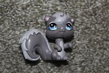 Littlest Pet Shop Gray Squirrel #484 Forest Animal Girls LPS Toy Blue Star Eyes