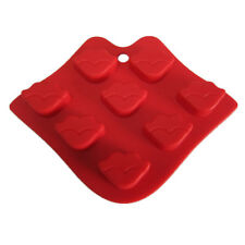 Creative Silicone Sexy Lips Shape Chocolate Mould Ice Soap Molds Baking Tool