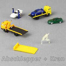 1:160 Spur N scale Abschleppwagen mit Kran für Herpa ROCO Wiking LKW Bausatz