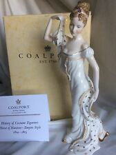 "BNIB COALPORT  EXTREMELY RARE ""HISTORY OF COSTUME FIGURINES  HANOVER LED 500."