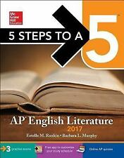 5 Steps to a 5 AP English Literature 2017 by Murphy Rankin (2016, Paperback)