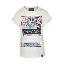 "BNWT ""Creamie"" GIRLS DIAMANTE GEMS PHOTO PRINT TOP from DENMARK, AGE 7 YEARS"