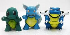 "FAKE/FALSO Pokemon monster evoluzioni- ""SQUIRTLE-WARTORTLE-BLASTOISE"" -n°007/009"