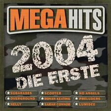 Mega Hits 2004-die Erste SCOOTER NO ANGELS OVERGROUND NELLY LUMIDEE 2CD