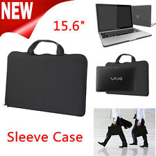 "Black 15.6"" Stylish Laptop Carry Bag Sleeve Case for Mackbook HP DELL Sony Acer"