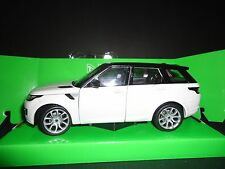 Welly Land Rover Range Rover Sport 2015 White with Black roof 1/24