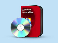 CD DVD & ISO BURNING SOFTWARE COPY PROGRAM WINDOWS VISTA, 7, XP CD