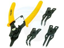 4pc Combination Circlip Snap Ring Plier Internal External ORing C-Clip