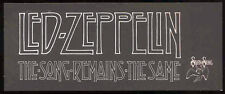 LED ZEPPELIN REPRO 1976 THE SONG REMAINS THE SAME BOSTON MOVIE PREMIERE TICKET
