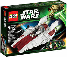 Lego Star Wars 75003 A-wing Starfighter Han Solo Ackbar NEW SEALED Retired 2013