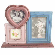 Sass and Belle 3 Foto Marco Rosa Corazón Decorativo Vintage Shabby Chic