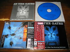 At the Gates / With Fear I Kiss the Burning Darkness JAPAN+2 Rare!!!!! A