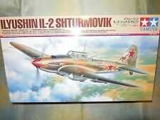 Tamiya 1/48 Ilyushin IL-2 Shturmovik Model Air Plane Kit #61113