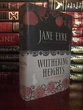 Jane Eyre & Wuthering Heights by Emily & Charlotte Bronte New Hardcover Edition