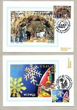 ITALIA 2000 - NATALE - 2 FIRST DAY CARDS