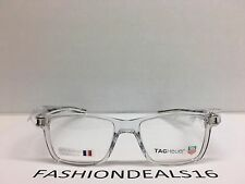 New Tag Heuer w/TAGS 7603 Track S Crystal TH7603 006 50mm RX Optical Eyeglasses