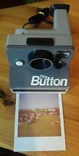 collectable polaroid sx70 the button Instant Film Camera uses sx70 film