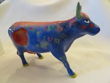 """COWS ON PARADE """"BIG APPLE"""" NEW YORK CITY EXHIBIT #9163 Excellent Used Condition"""