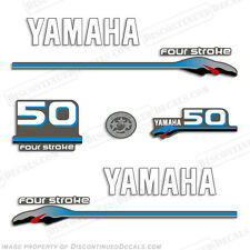 Yamaha 50hp FourStroke Outboard Motor Decal Kit 4 Stroke 50 hp four stroke 2000