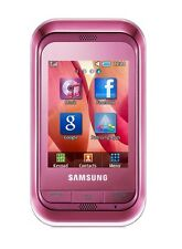 Samsung Champ C3300i Sweet Pink Smartphone 1.3 MP camera 3300i Without Simlock