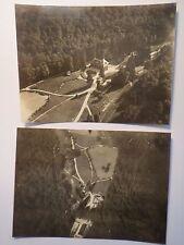 I. Weltkrieg Frankreich - La Noue le Coq - Deutsche Fliegeraufnahme / 2x Foto