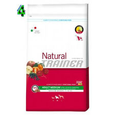 NATURAL TRAINER MEDIUM ADULT MANZO RISO GINSENG CANE 12,5 kg CROCCHETTE PER CANI