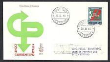 1968 ITALIA FDC VENETIA 279 CONTI CORRENTI POSTALI TIMBRO DI ARRIVO - 6575