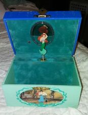 "Vintage Disney The Little Mermaid Ariel Music Jewelry Box ""Part Of Your World"""