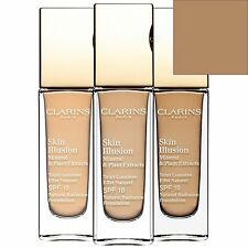 Clarins Skin Illusion Natural Radiance Foundation SPF 10 110.5 Almond 30ml