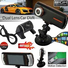 Objectif Dual 2.7 hd voiture dvr caméra 1080P dash cam night vision recorder uk stock