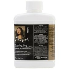 Speedball Art Products 90008 Mona Lisa Odorless Paint Thinner 8oz NEW