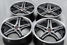 17 Drift Wheels Rims ILX TLX Avenger MKZ Escape CX3 Fusion Element Pilot 5x114.3
