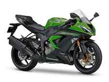 2 COLOUR KAWASAKI TOUCH UP PAINT KIT ZX6R 2014 - 15 LIME GREEN AND FLAT EBONY