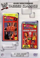WWF In Your House 13 & 16 Final Four & Canadian Stampede Orig 2 DVDs WWE