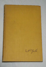 W.B.Yeats Letters on Poetry by Dorothy Wellesley, 1940 1st Edition