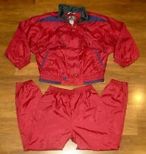 Vtg 80s 90s RE SPORT Color Block XS SMALL Windbreaker TRACK SUIT Jacket Pants