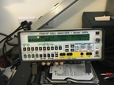 Ameritec AM8E PCM/VF E1 30 Channel CAS Analog Call Analyzer