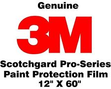 "Genuine 3M Scotchgard Paint Protection Film 12"" x 60"" Roll"