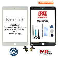 **NEW** Complete Front Glass/Digitiser Touch Screen Assembly iPad Mini 3 - WHITE