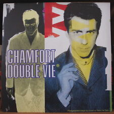 ALAIN CHAMFORT DOUBLE VIE GATEFOLD COVER DOUBLE  FRENCH LP
