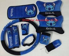 X'MAS ON SALE# NEW Disney Stitch Car Accessories 10pcs