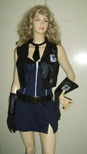 Femmes naughty cop hot police woman lady sexy fancy dress costume uniforme ni chapeau