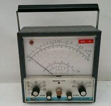 WORKING - B&K Professional Dynascan Model 177 VTVM (Vacuum Tube Volt Meter) Vtg